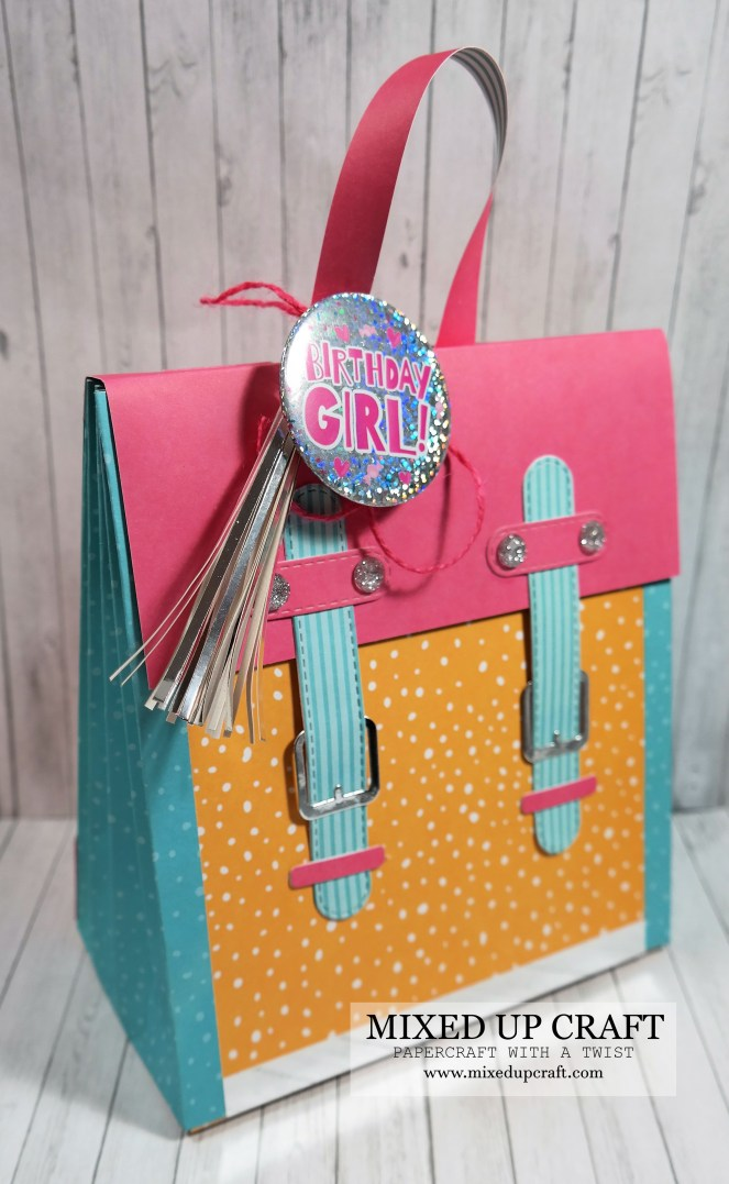 Awesome Concertina Back Pack Gift Bag!
