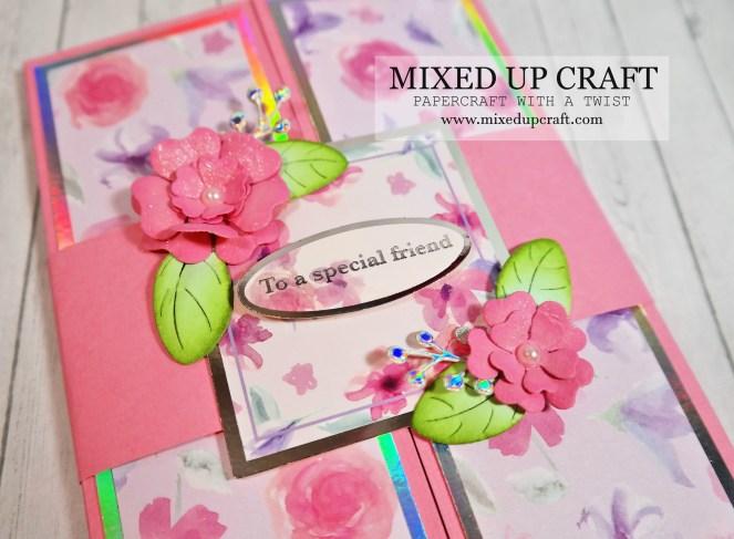 Gate Fold Mantle Drape Fold Card