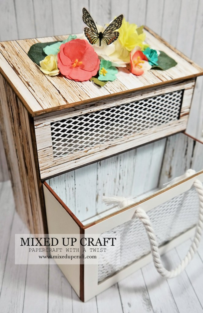 Beautiful Spring Storage Box