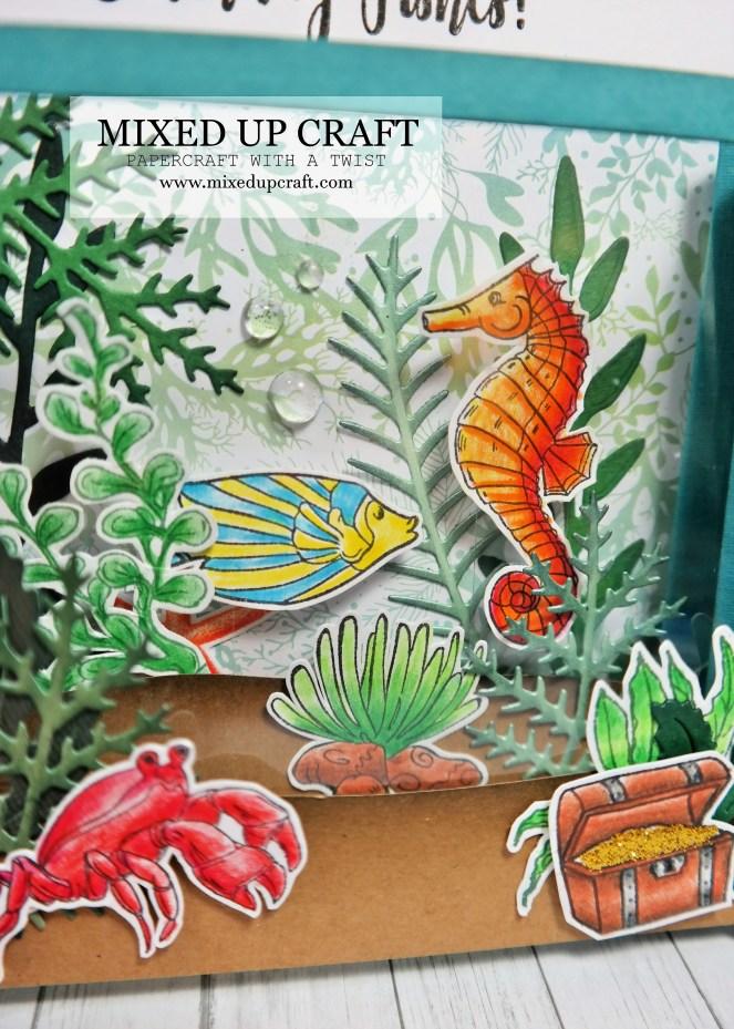Diorama Concertina Front Scene Card