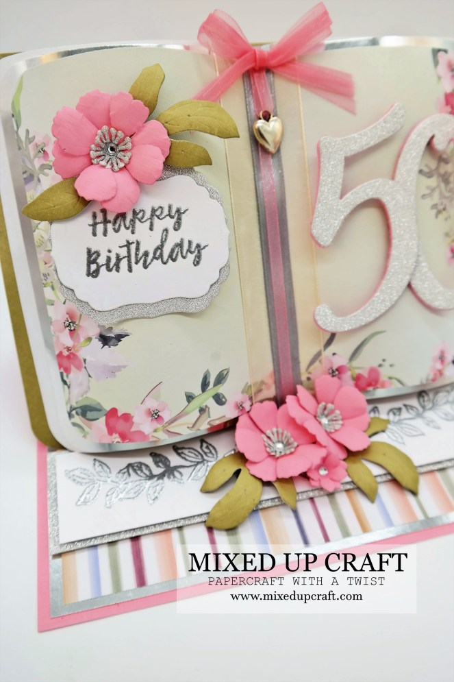 Beautiful Open Book Easel Cards