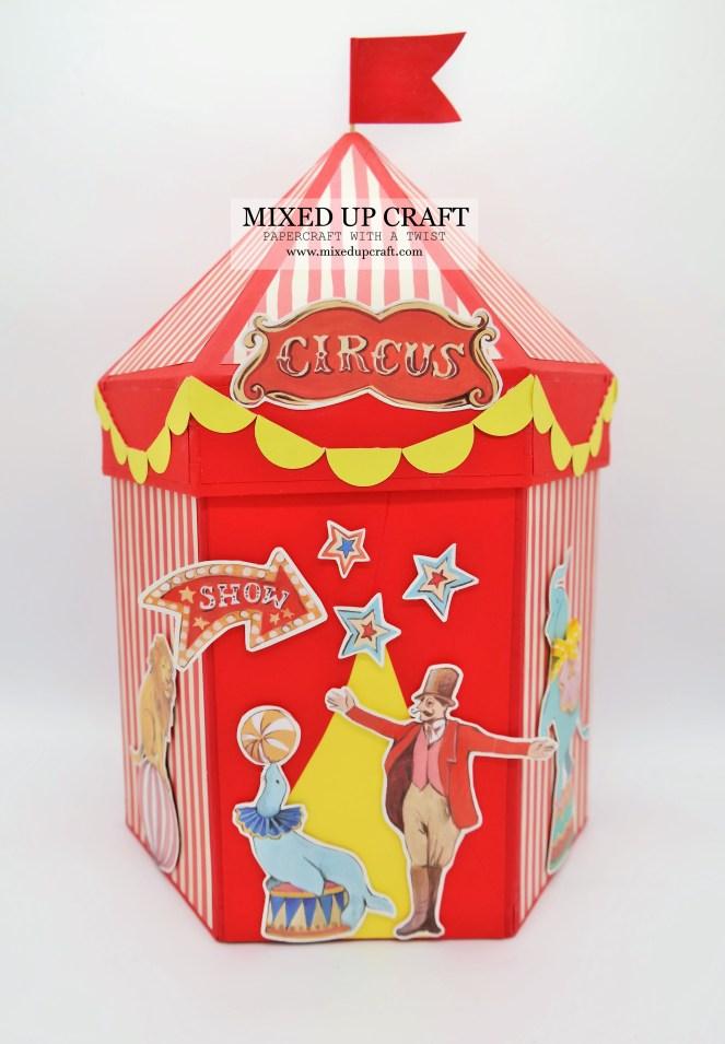 Circus Tent Storage Box