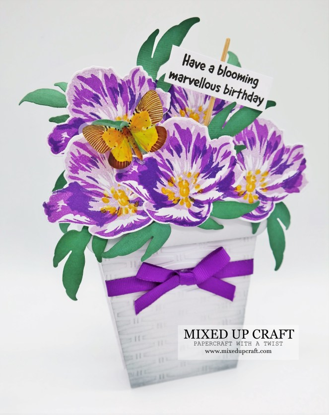 Free Standing Flower Pot Cards