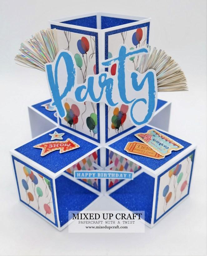 5 x 7 Penta-Cube Pop Up Card
