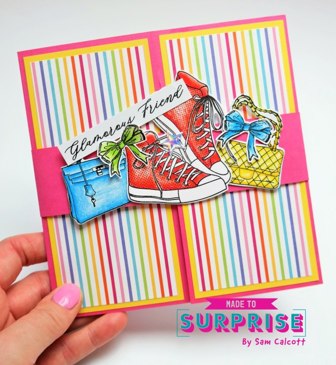 Gatefold Slider Card