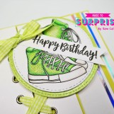 Fun Lace-Up Effect cards