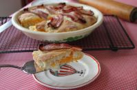 Layers - Bacon Biscuit Pie