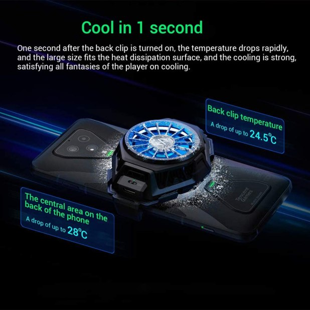 Black Shark Phone Cooling Clip