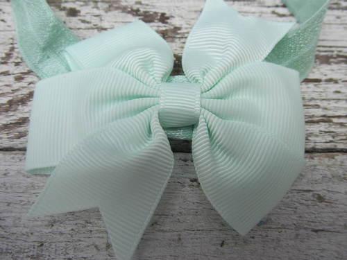 Haarbandje Green Bow
