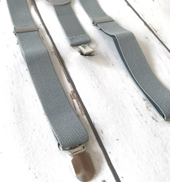 Bretels mono Grey