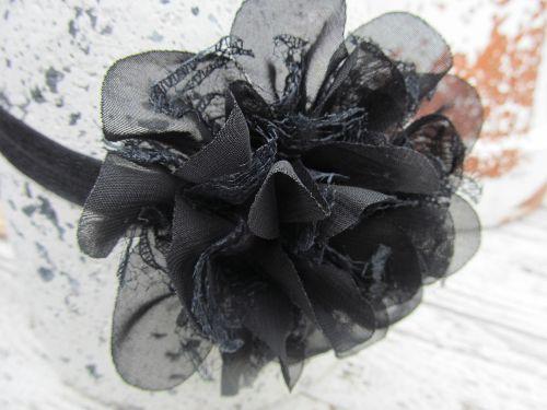 Haarbandje Black Bloom