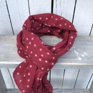 Sjaal Bordeaux Stars