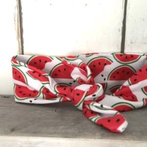 Haarbandje met watermeloenen