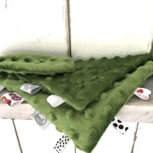 Knuffeldoekje / Sleepy Groen voor jongens en meisjes