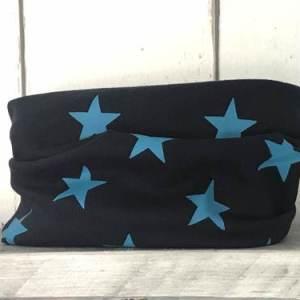 Colsjaaltje Donkerblauw met Turquoise sterren