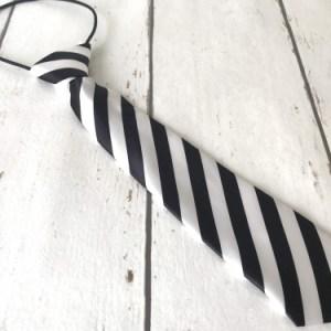 Zwart/Wit stropdasje