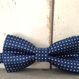 Kobaltblauw strikje voor jongens
