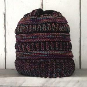 Purple Knitted Muts