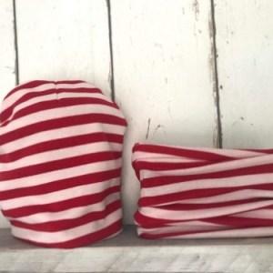 Mutsje en Colsjaaltje Red Stripes