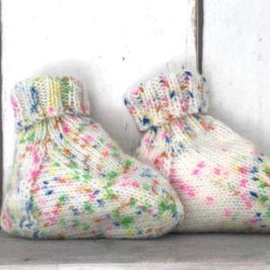Multicolor babyslofjes