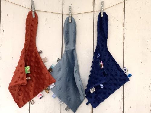Knuffeldoekjes voor jongens en meisjes
