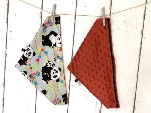 Zachte kwijlslab Roestbruin Panda