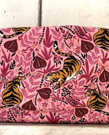 Roze colsjaaltje met tijgers