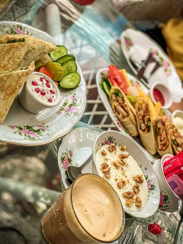 Dubai tea house