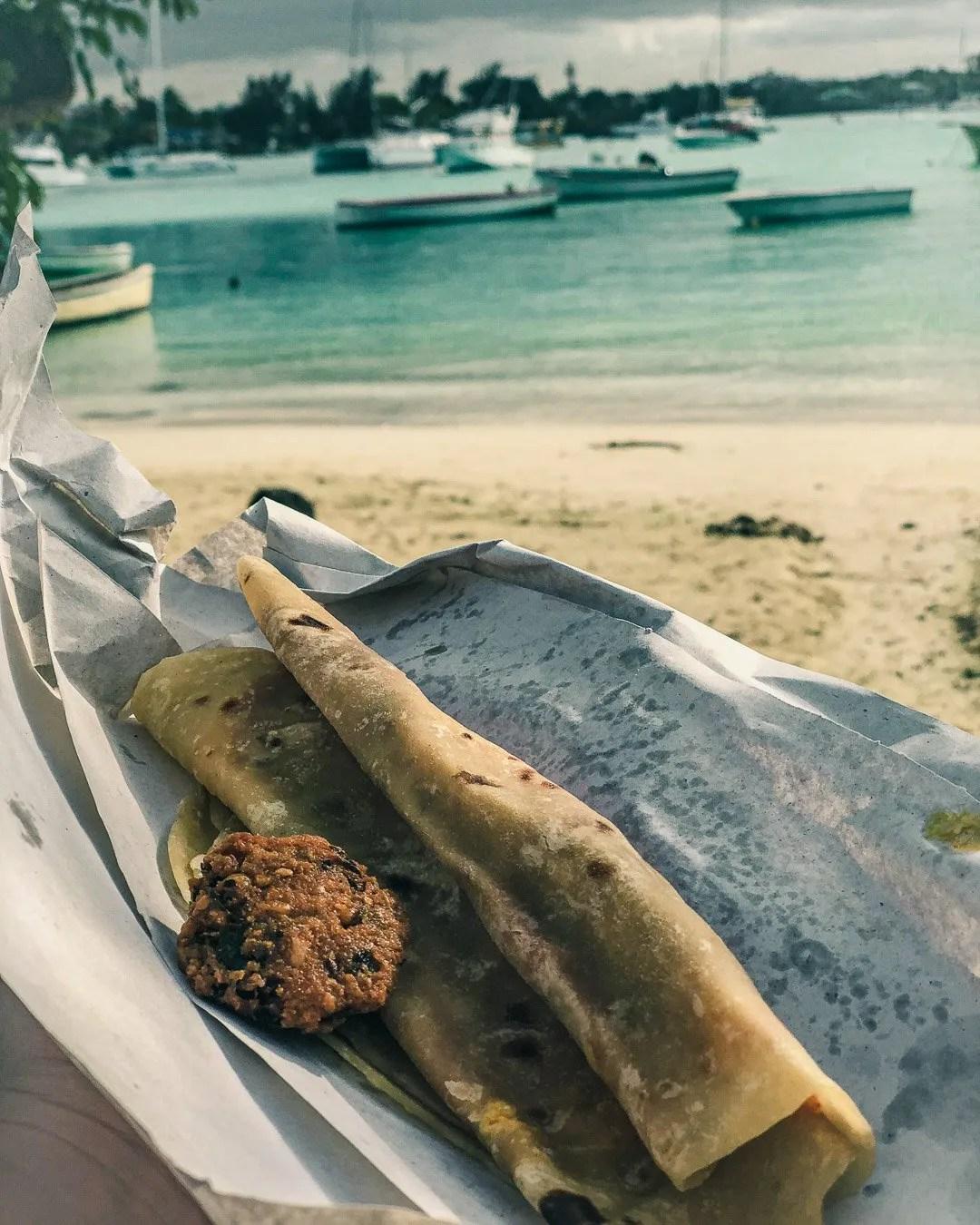 Mauritian Food, Roti