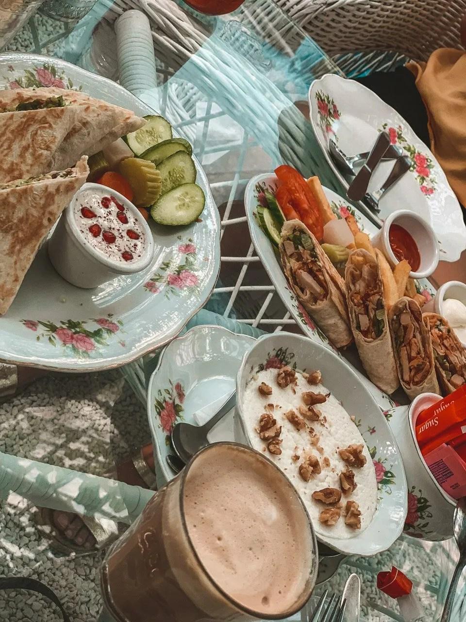 Dubai tea house, Dubai restaurant, Dubai arabian tea house, Arabian tea house