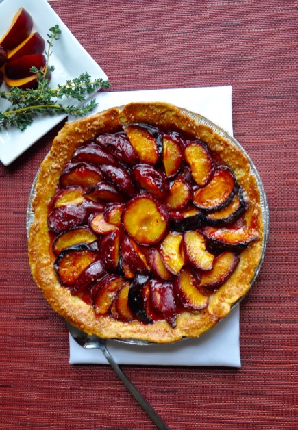 Plum Pie. Sweet and tangy.