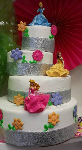 Princess Tiered Cake