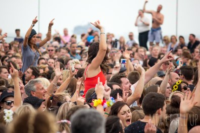 Crowd at Victorious Festival 2015.