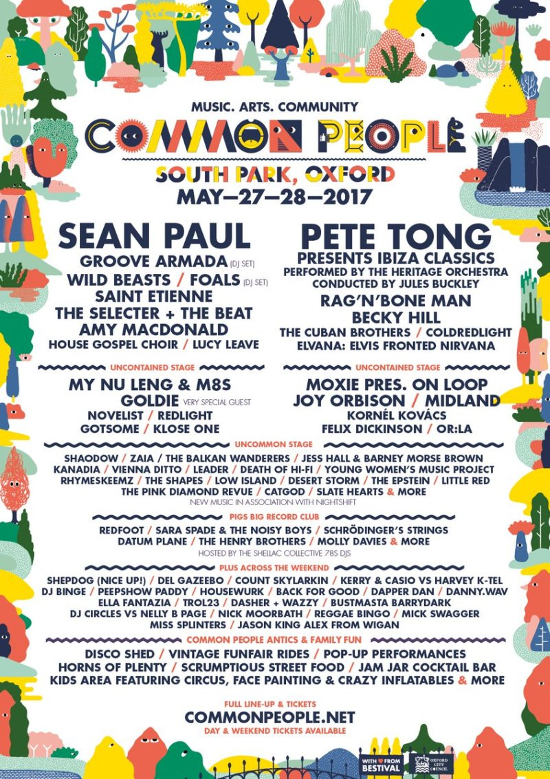 Mix it all up, common people oxford lineup