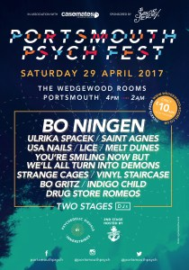 Mix It All Up Portsmouth Psych Fest 2017