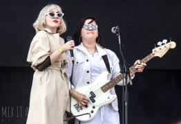 Pins live at Victorious Festival 2018.