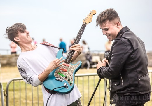 The Collision live at The Bandstand, Southsea - 03/08/19