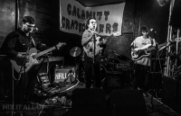 Hallan supporting Ban Summers at the Edge of the Wedge, Portsmouth - 29/09/19