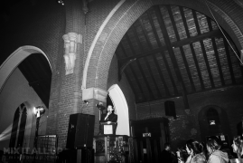 """Sacha supporting Sad Palace @ Quay West Studios """"Cool Gig in a Church"""", Gosport - 20/12/19"""
