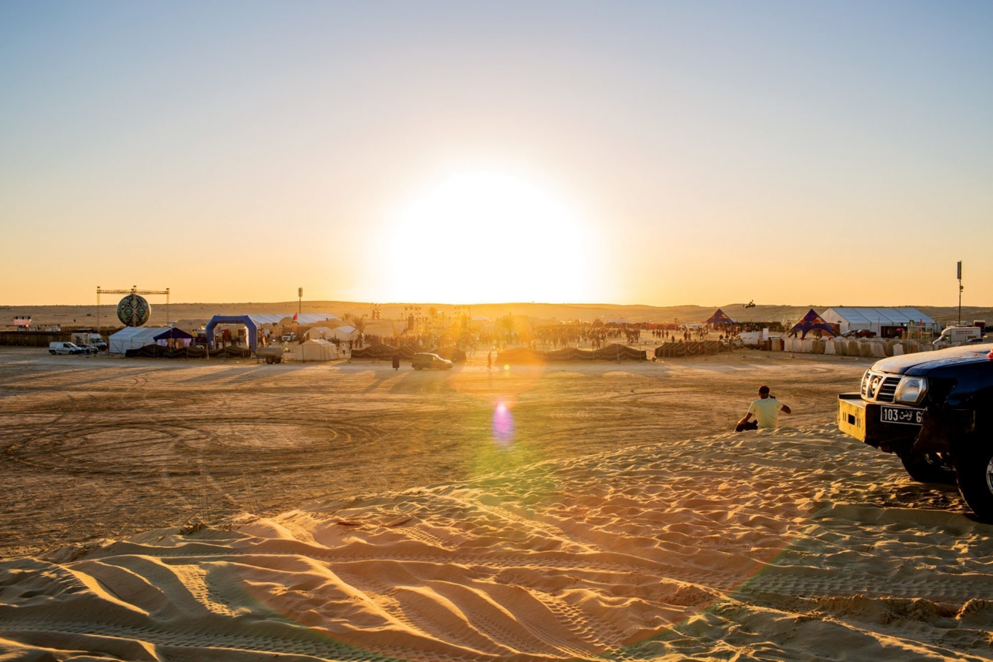 Tunisia S Desert Festival Les Dunes Electronique Takes