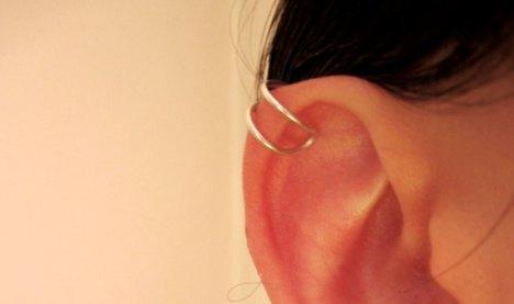 ear cuff - bague d'oreille en argent