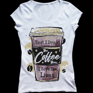 Nurse Drink the Coffee Tee