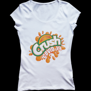 Crush COVID-19 Tshirt