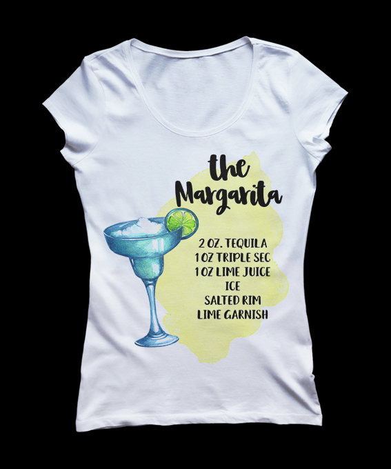 Margarita-Cocktail-Tshirt