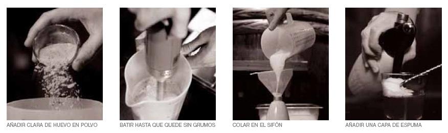 Mixología Molecular: Como hacer Espumas (2/2)