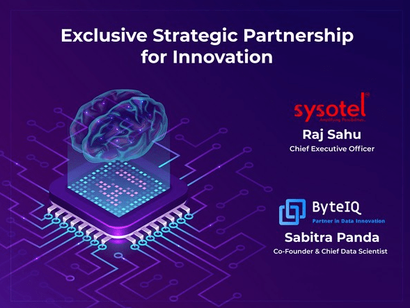 SYSOTEL partners with ByteIQ Analytics for innovation