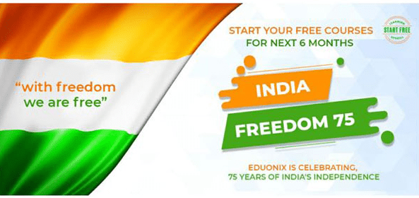 Eduonix Learning Solutions launches The INDIA FREEDOM 75 for aspiring students
