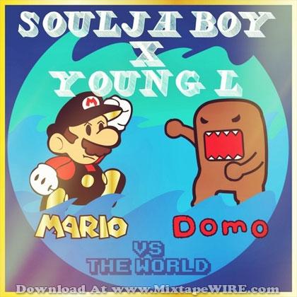 soulja boy young l mario domo mixtape cover artwork
