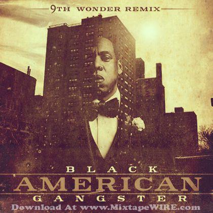 jay-z-9th-wonder-black-american-gangster