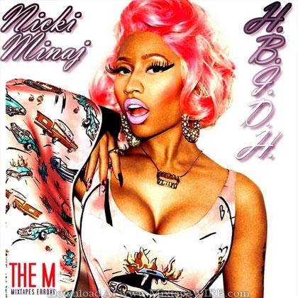 Nicki_Minaj_Hottest_Bitch_In_Da_Hood_Mixtape